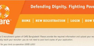 CARE Bangladesh NGO Job Circular