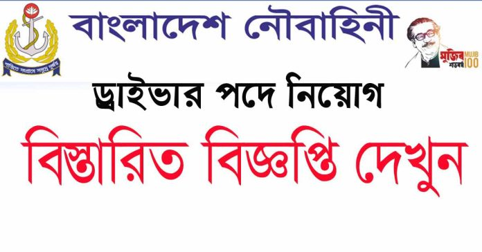 Bangladesh Navy Civilian Job