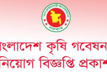 job-circular-at-bangladesh-agricultural-research-council